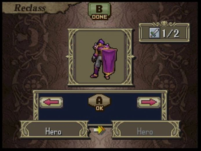 Fire Emblem Shadow Dragon Hero Class