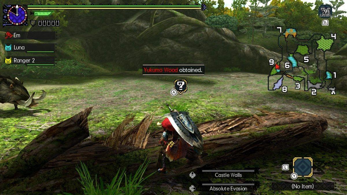 Monster Hunter Generations Ultimate Yukumo Wood
