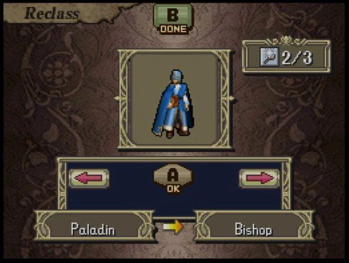 Fire Emblem Shadow Dragon Bishop Class