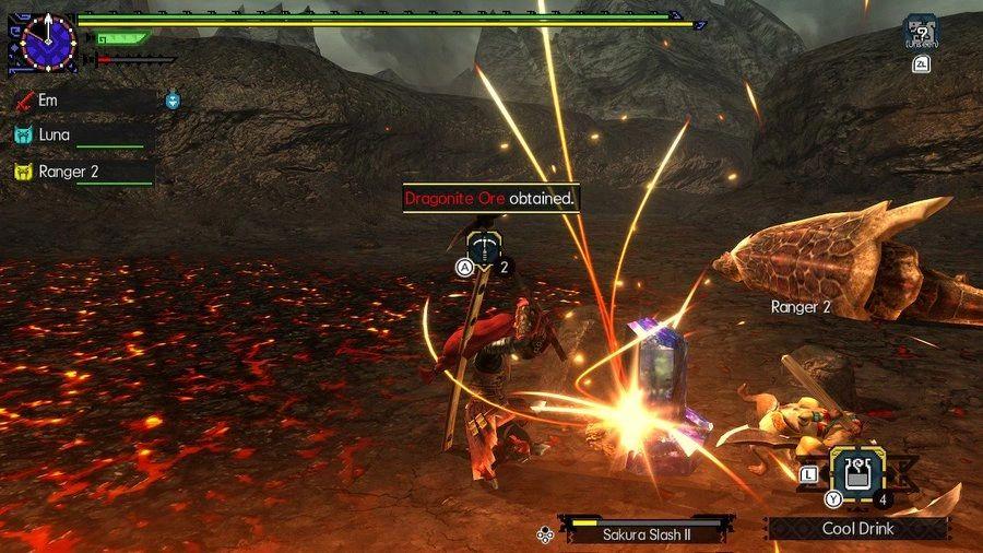 Monster Hunter Generations Ultimate Dragonite Ore
