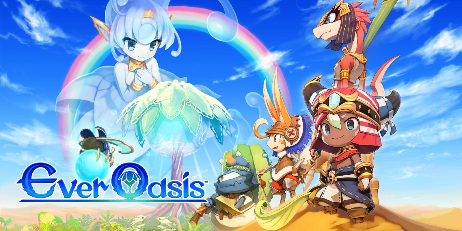 Ever Oasis Nintendo 3DS RPG