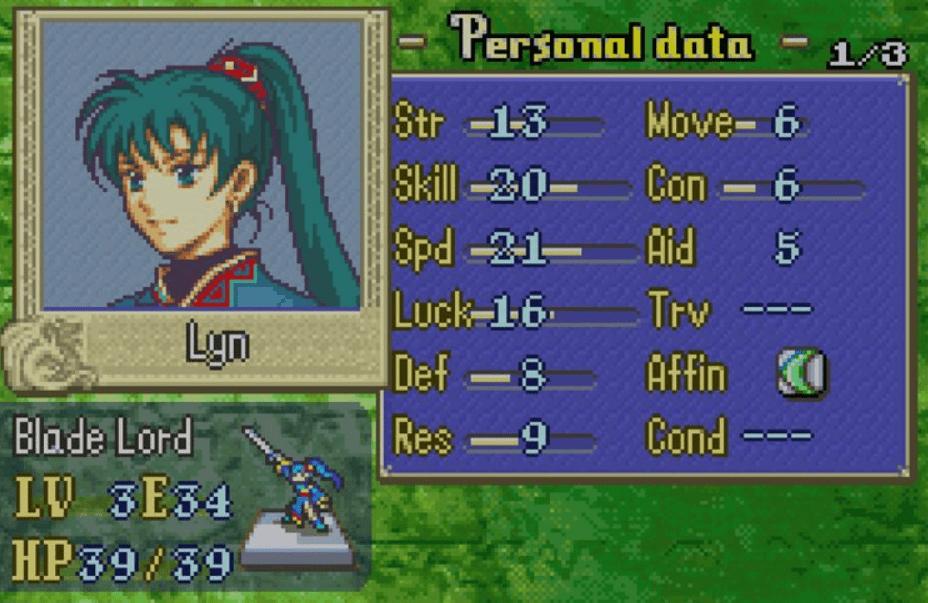 Lyn Fire Emblem