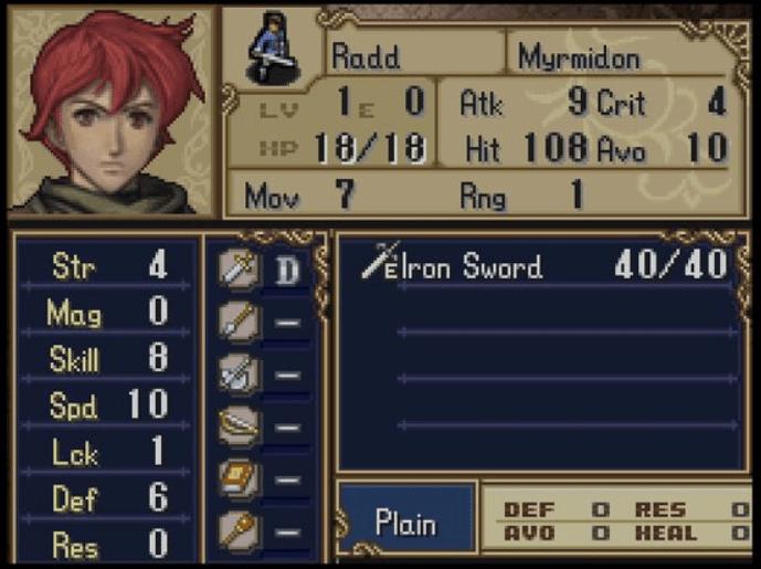 Radd Fire Emblem Shadow Dragon