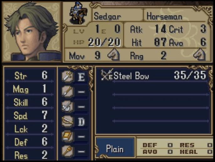 Fire Emblem Sedgar