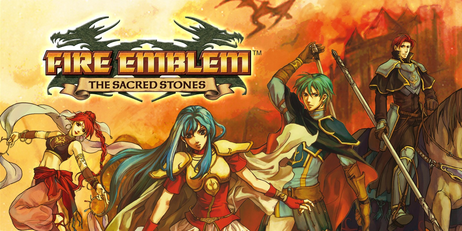 Wii U Fire Emblem The Sacred Stones