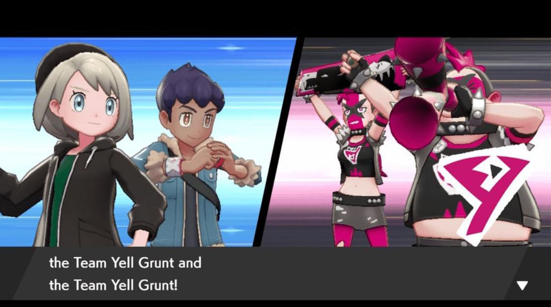 Pokemon Team Yell