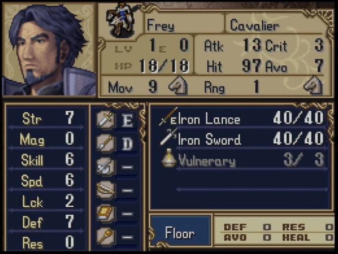 Fire Emblem Frey