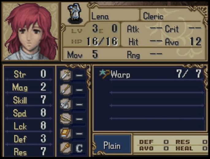 Fire Emblem Lena