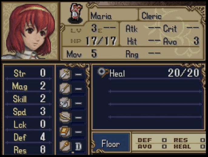 Fire Emblem Maria