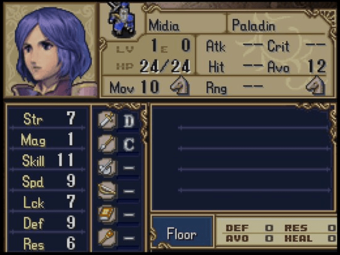 Fire Emblem Midia