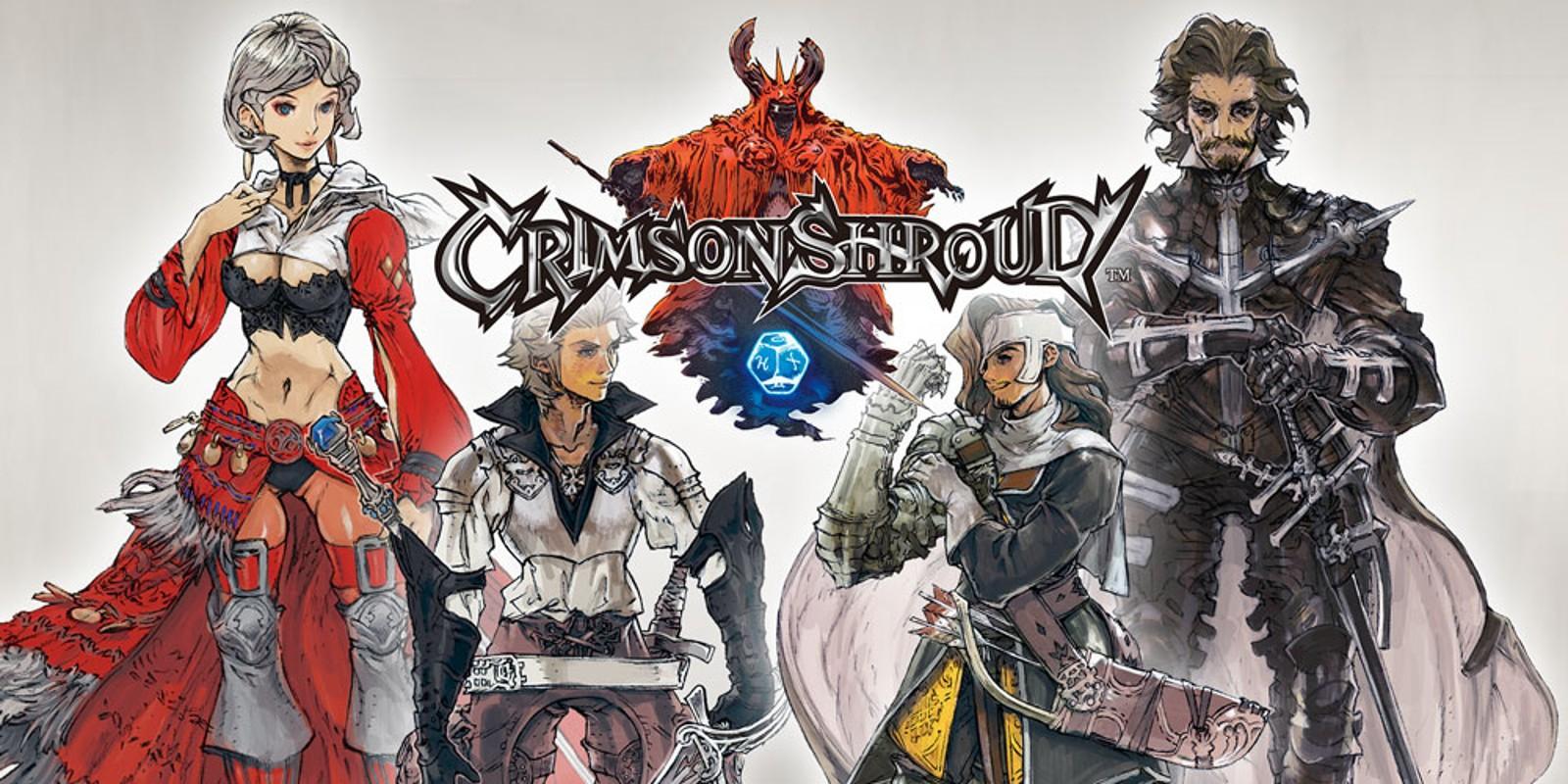 Nintendo 3DS Crimson Shroud