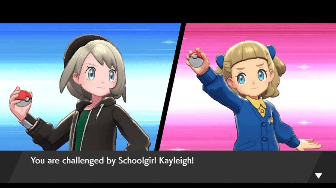 Pokemon Sword & Shield Schoolgirl Kayleigh