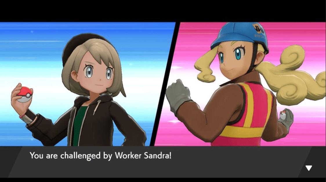 Pokemon Sword & Shield Worker Sandra