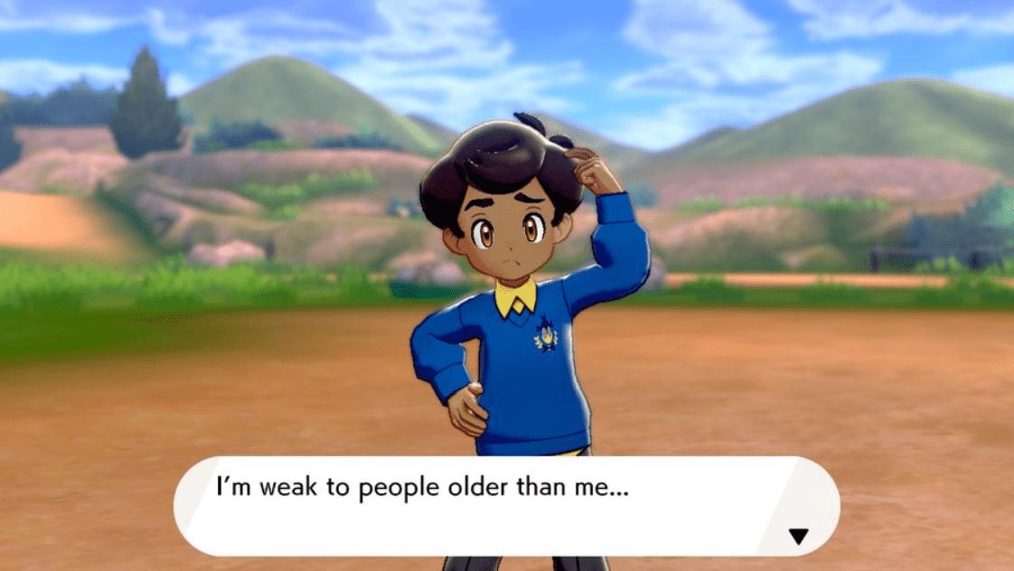 Pokemon Sword & Shield Schoolboy Peter