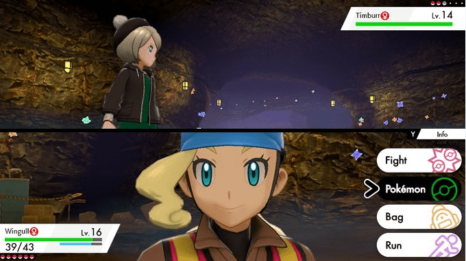 Pokemon Sword & Shield Worker Georgia