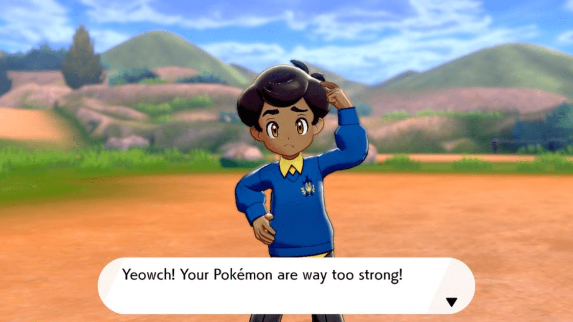Pokemon Sword & Shield Schoolboy Marvin