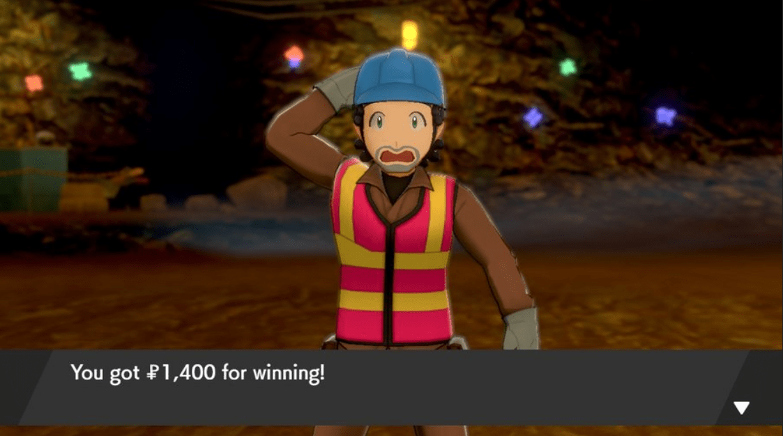 Pokemon Sword & Shield Worker Keith