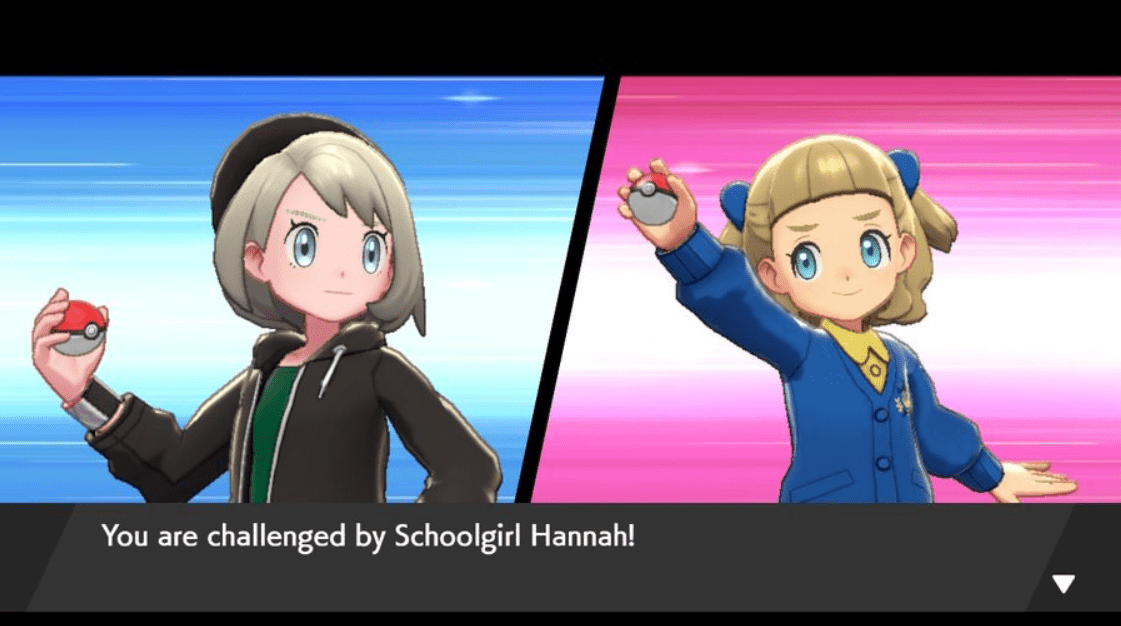 Pokemon Sword & Shield Schoolgirl Hannah