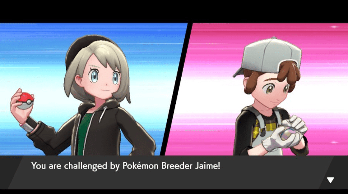 Pokemon Sword & Shield Breeder Jaime