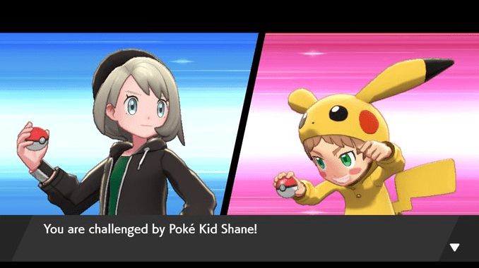 Pokemon Sword & Shield Poke Kid Shane