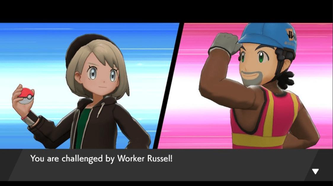 Pokemon Sword & Shield Worker Russel