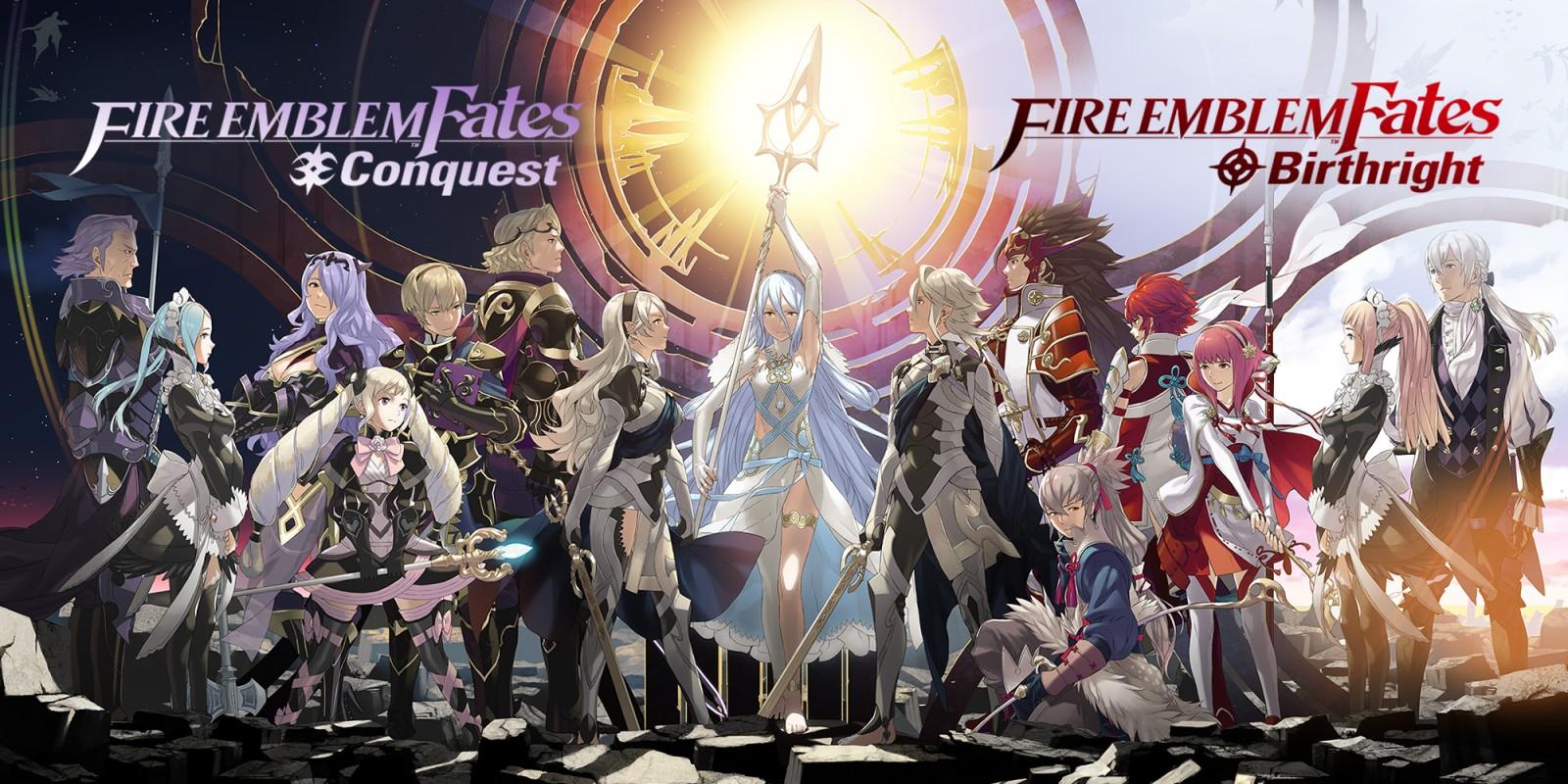 Fire Emblem Fates Nintendo 3DS RPG
