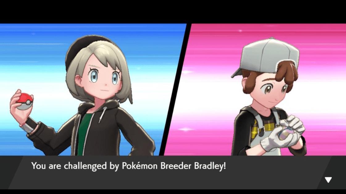 Pokemon Sword and Shield Pokemon Breeder Bradley