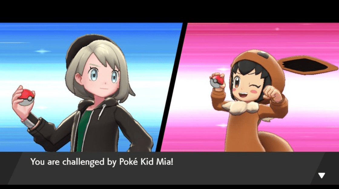 Pokemon Sword & Shield Poke Kid Mia