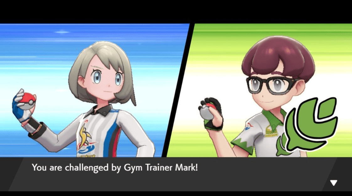 Pokemon Sword & Shield Gym Trainer Mark