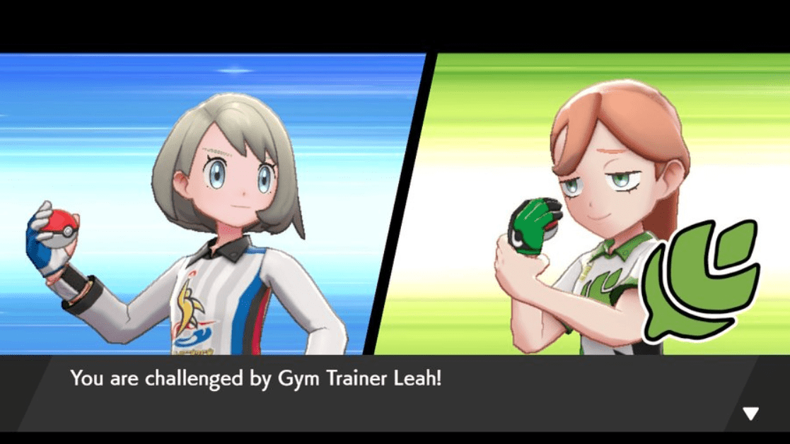 Pokemon Sword & Shield Gym Trainer Leah