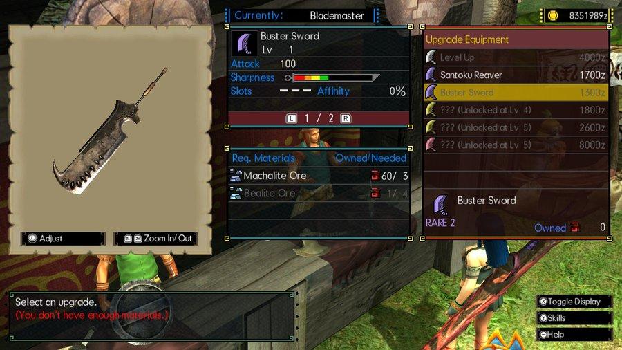 MHGU Great Sword