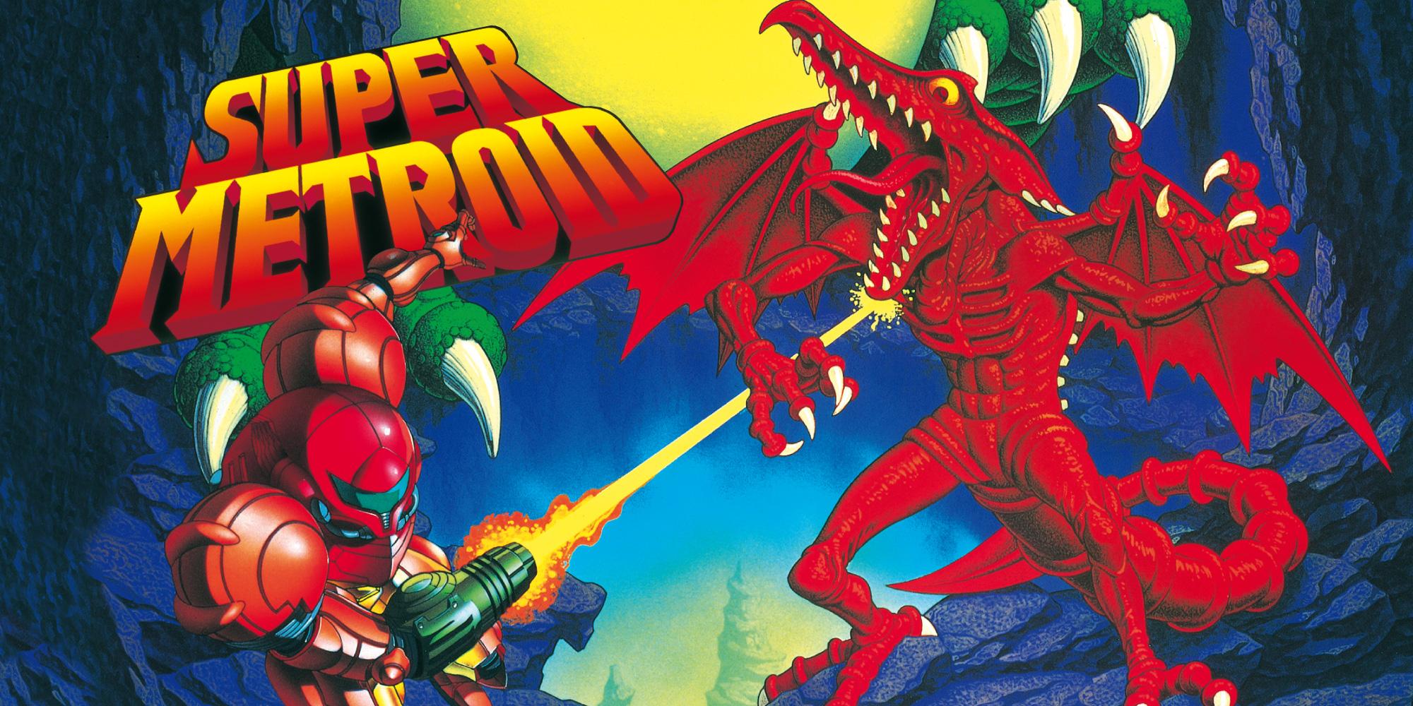 3DS Virtual Console Super Metroid