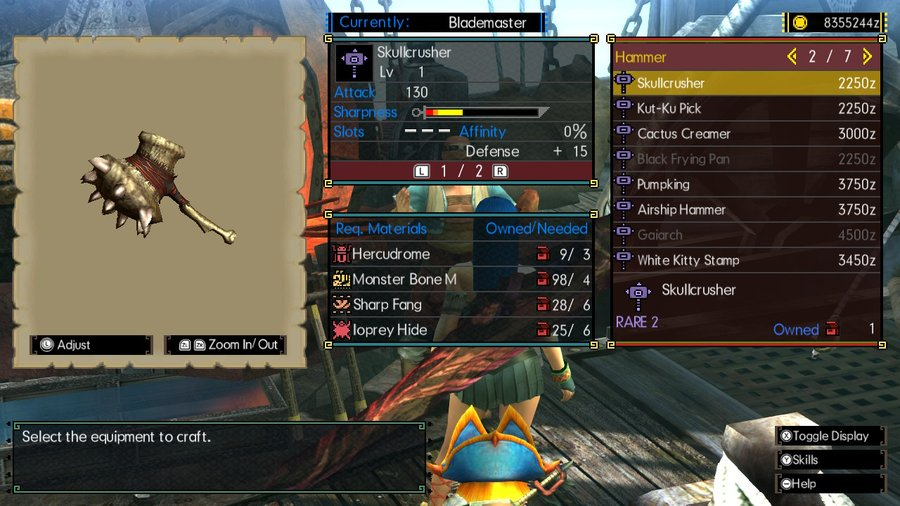 MHGU Low Rank Hammer