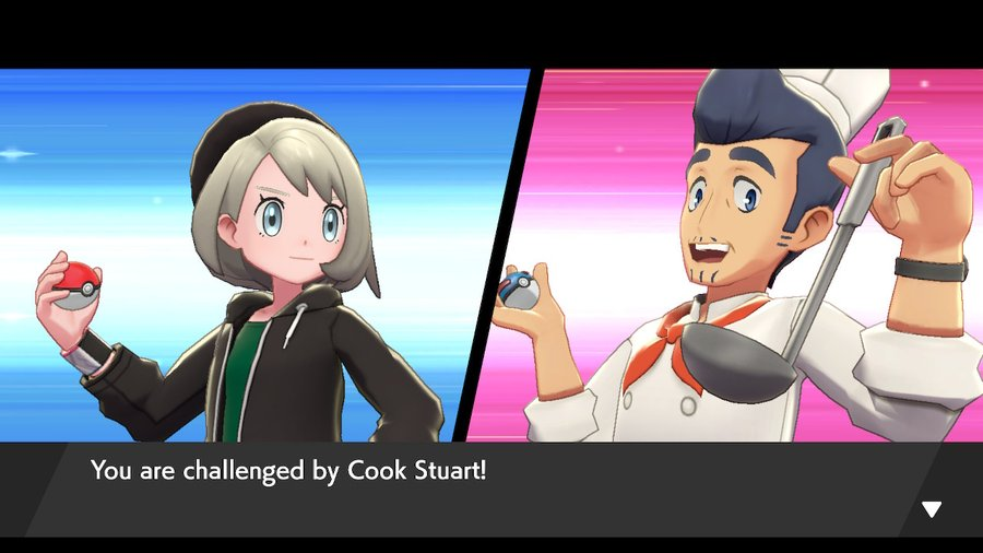 Pokemon Sword and Shield Cook Stuart