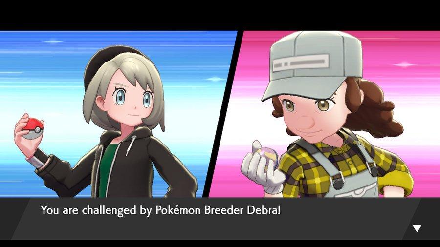 Pokemon Sword and Shield Pokemon Breeder Debra