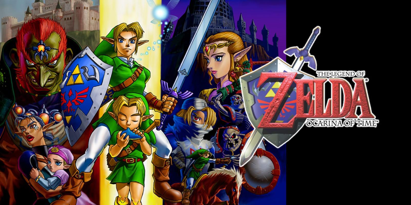 Wii U Legend of Zelda Ocarina of Time