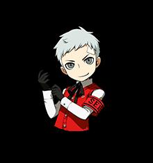 Persona Q2 Akihiko