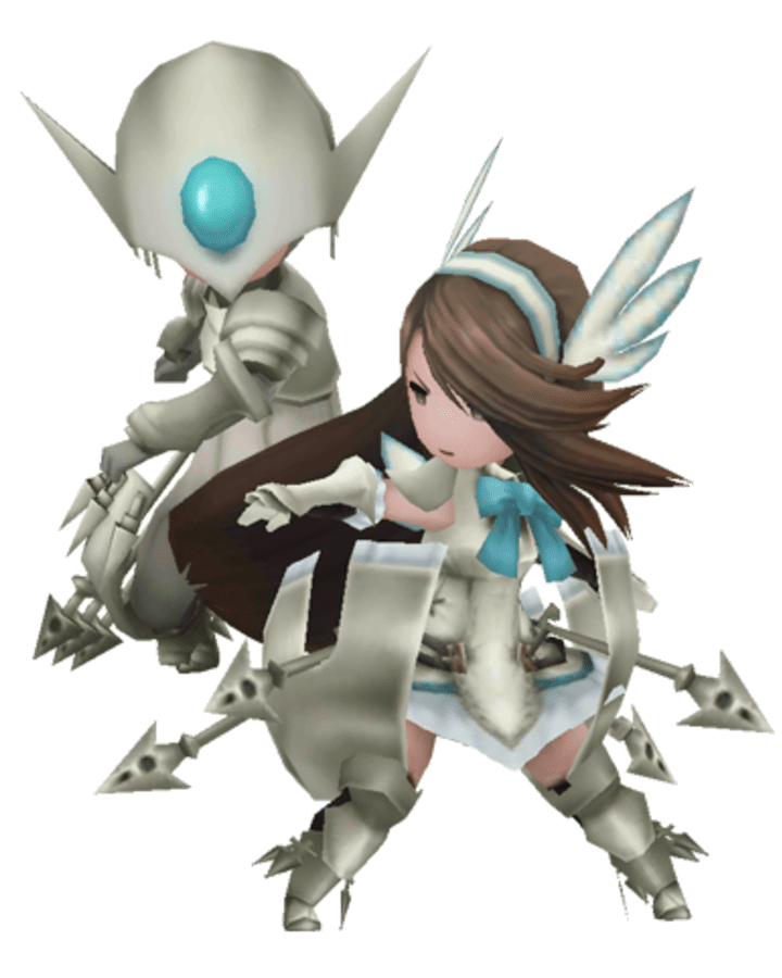 Bravely Default Valkyrie Job