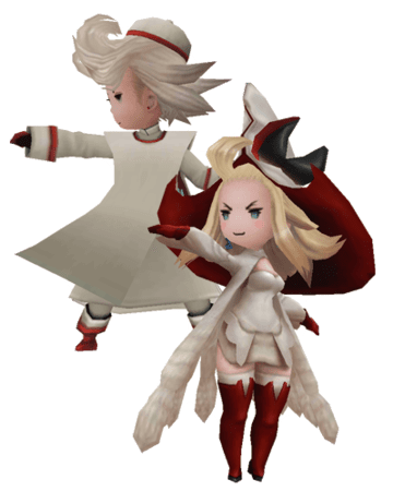 Bravely Default White Mage Job