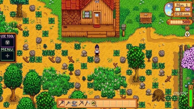 Stardew Valley Starting Farm