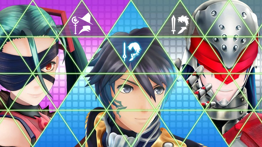 Kiria, Itsuki and Yashiro Battle introduction screen