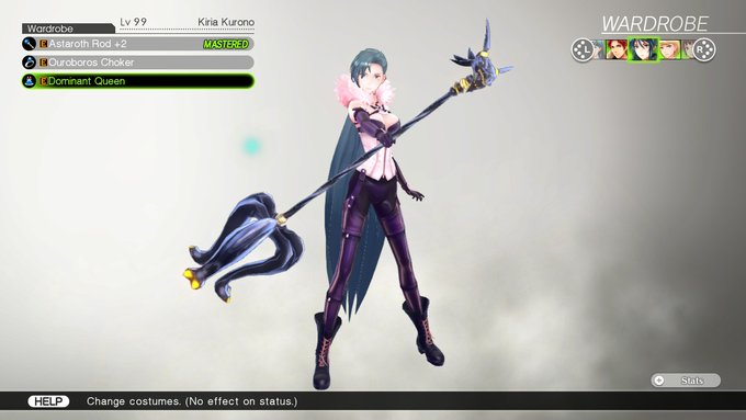 Kiria's Costume, Dominant Queen, in Tokyo Mirage Sessions #FE Encore