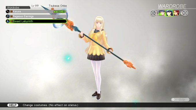 Tsubasa's Costume, Sweet Labyrinth, in Tokyo Mirage Sessions #FE Encore