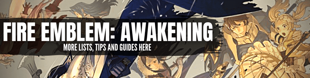 Fire Emblem: Awakening Home Link