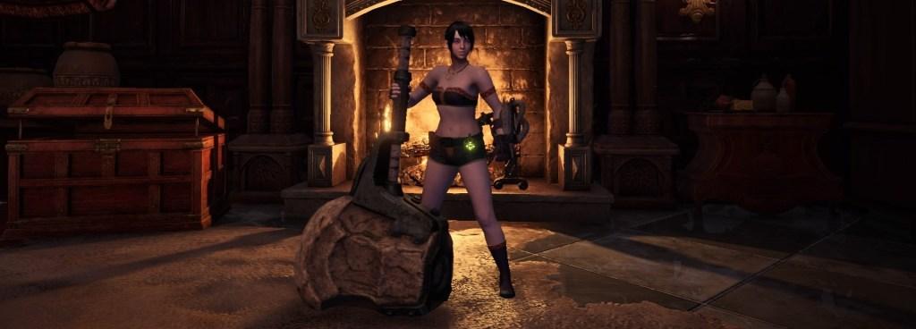 Monster Hunter World Solo Weapon,  Hammer