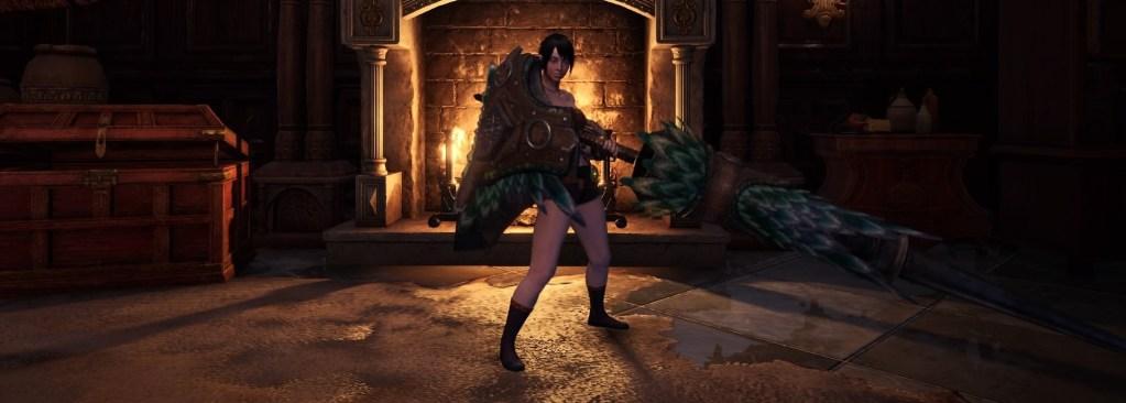Monster Hunter World Solo Weapon, Lance
