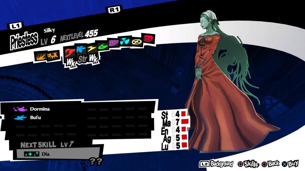 Persona 5 Royal, Silky Persona