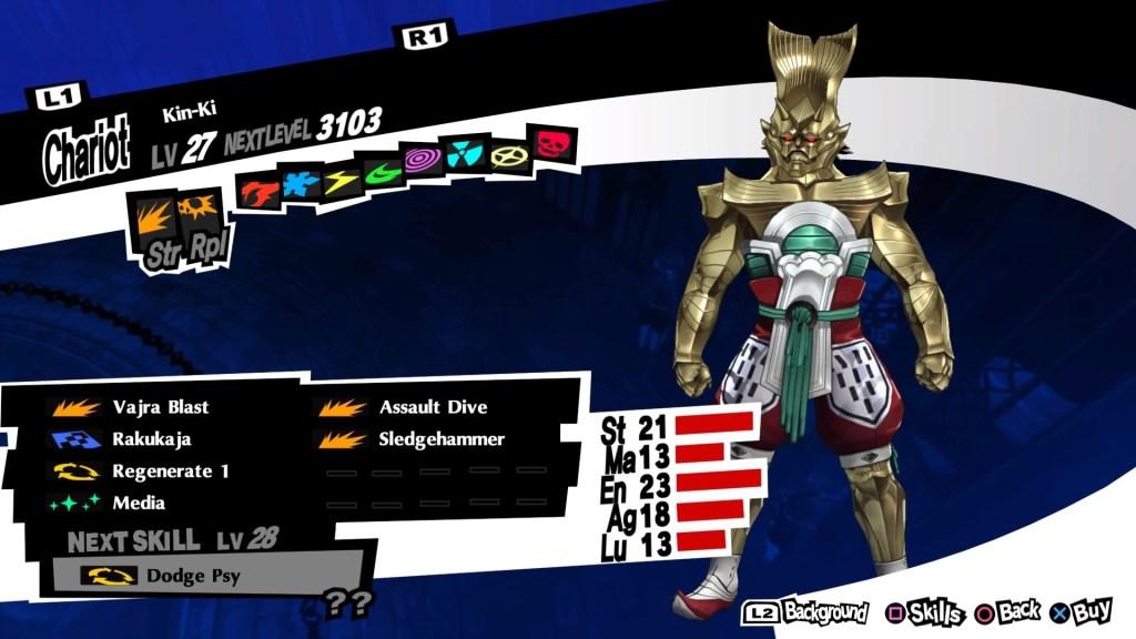 Persona 5 Royal, Kin-Ki Persona