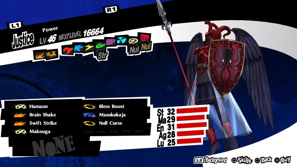 Persona 5 Royal, Power Persona