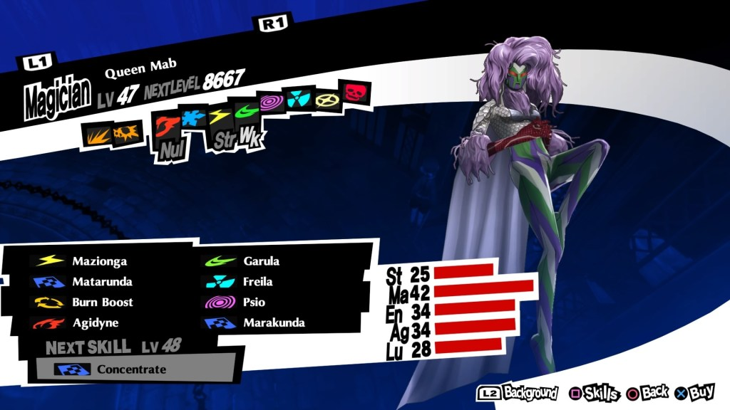 Persona 5 Royal, Queen Mab Persona
